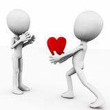 Soyez mon valentine Images stock