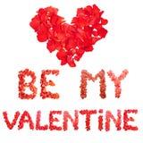 Soyez mon Valentine Image libre de droits