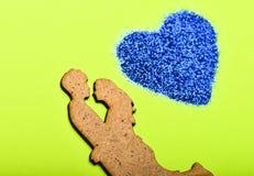 Soyez mon Valentine Couples en silhouette d'amour rapports romantiques Célébration de vacances de valentines Coeur de décoration photos libres de droits