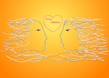 Soyez mon valentino Image libre de droits
