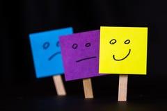 Soyez positif, soyez différent Images libres de droits
