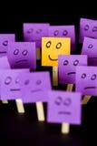 Soyez positif, soyez différent, tenez-vous  Photos libres de droits