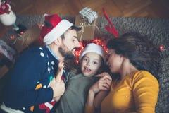 Soyez un coeur gai pour Noël photos stock