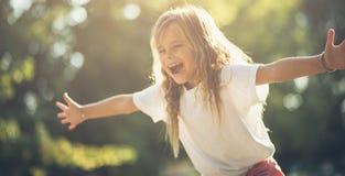 Soyez un enfant pour toujours photo stock