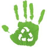 Soyez vert Photos libres de droits