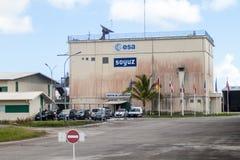 Soyuz-Produkteinführungs-Komplex in der Guayana-Raum-Mitte stockbild