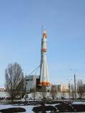 Soyuz rocket in Samara, Russia. royalty free stock photos