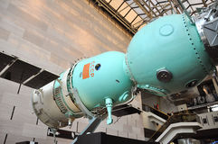 Soyuz Spacecraft in National Air and Space Museum Royalty Free Stock Photos