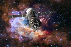 Soyuz statek kosmiczny undocked Fotografia Royalty Free