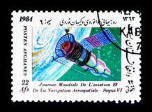 Soyuz VI, aviazione del mondo e serie di giorno di navigazione spaziale, circa 1 Fotografia Stock