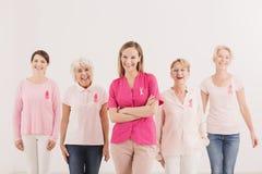 Sozialbrustkrebs-Sensibilisierungskampagne Lizenzfreies Stockbild