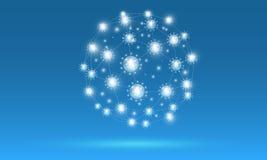 Sozialdigitalnetz Stockbild