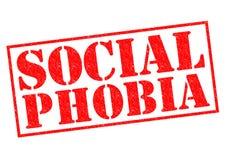 Soziale Phobie vektor abbildung