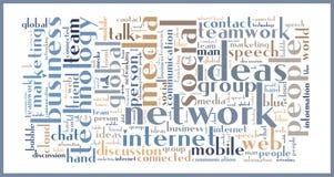 Soziales Netz Lizenzfreies Stockbild