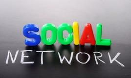 Soziales Netz Lizenzfreies Stockfoto