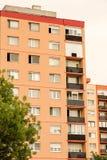 Sozialistische Architektur in Ungarn Stockfotos