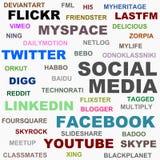 Sozialmedia Stockfotografie