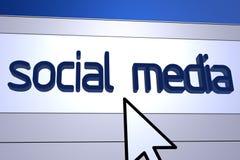 Sozialmedia Stockbild