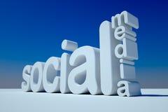Sozialmedia Stockfoto