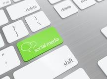 Sozialmedia Lizenzfreies Stockbild