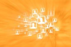 Sozialmedia-Gruppen Lizenzfreies Stockfoto