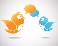 Sozialmedia-Kommunikation Stockbilder