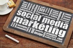 Sozialmedia Vermarkten Stockfotos