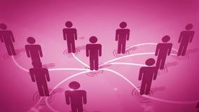 Sozialnetwork Connection Lizenzfreies Stockbild