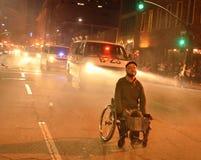 2015 Sozialproteste in im Stadtzentrum gelegenem Oakland Lizenzfreie Stockbilder