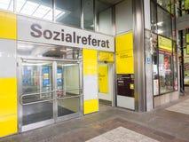 Sozialreferat munich east Stock Photo