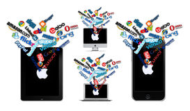 Sozialtechnologie auf Apple
