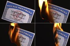 Sozialversicherung-Karte lizenzfreies stockfoto