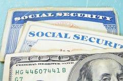 Sozialversicherungkarten Lizenzfreies Stockfoto