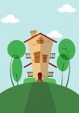 Sozinho Home Imagens de Stock Royalty Free