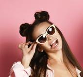 Sozinho louco indo da menina consideravelmente 'sexy' dos jovens imagem de stock royalty free
