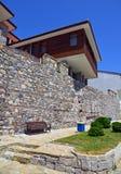 Sozopol古城在保加利亚 库存照片