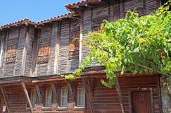 Sozopol,保加利亚 库存照片