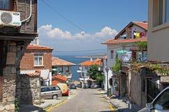 Sozopol,保加利亚 库存图片