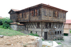 Sozopol. Old wooden house in historical city Sozopol, Bulgaria Stock Images