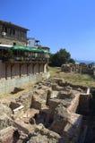 Sozopol ancient remains,Bulgaria Stock Photos