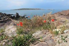 Sozopol coast Stock Images