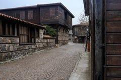 Sozopol gammal stad arkivfoto