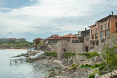 Sozopol: old and new embankments Stock Photo