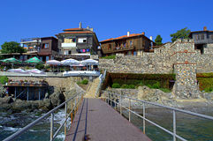 Sozopol Old town jetty Stock Image