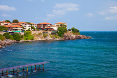 Sozopol Peninsula stock photo
