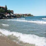 Sozopol sea Stock Photo