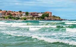 Sozopol sul Mar Nero Fotografia Stock Libera da Diritti