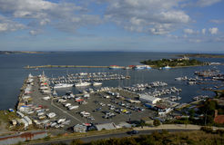 Sozopol yacht harbor in Bulgaria Royalty Free Stock Photography
