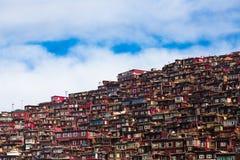 Späcka Gar Sertar Sichuan China 2015 Arkivbild