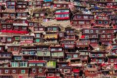Späcka Gar Sertar Sichuan China 2015 Arkivbilder